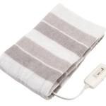 電気敷き毛布 コイズミ KDS-4051 なかぎし NA-023Sを比較